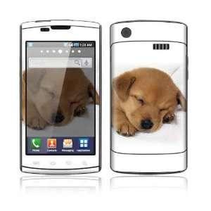 Samsung Galaxy S Captivate Decal Skin   Animal Sleeping