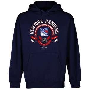 New York Rangers Blue The Main Attraction Hooded Fleece