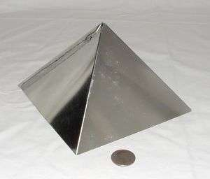Orgone Supplies Giza Pyramid Mold 6 inch Lot of 10