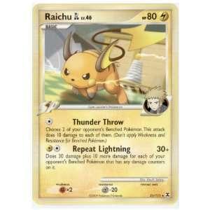 Pokemon   Raichu [GL] (31)   Rising Rivals   Reverse