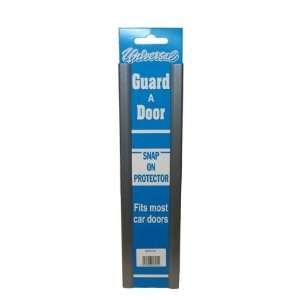 Universal Silver Door Edge Guard Protector Snap On Pair