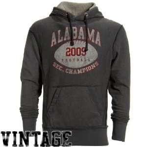 Alabama Crimson Tide Charcoal 2009 SEC Champions Heathered Vintage