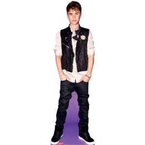 Justin Bieber Bow Tie Cardboard Cutout Standee Standup
