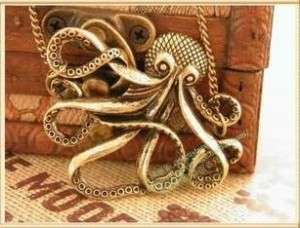 Amazing Retro Style Prophet Octopus Paul Necklace HOT