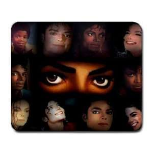 Many Faces of Michael, Michael Jackson Large Mouse pad