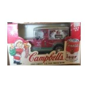 ERTL 1923 Chevrolet Chevy Campbells Soup Diecast Truck