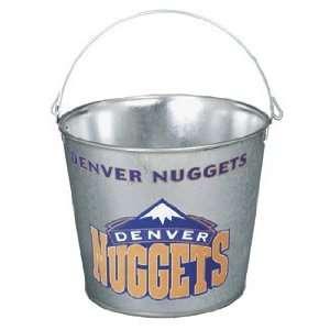 Denver Nuggets Galvanized Pail 5 Quart   Ice Buckets