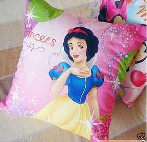 Disney Princess cover bed car living room cushion plus pillow 18/45cm