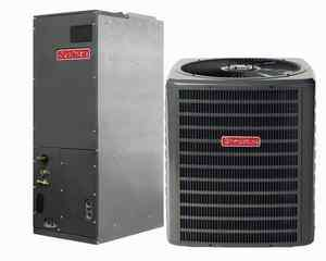 Ton Goodman 15 SEER R 410A Heat Pump Split System