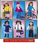 SEWING PATTERN MAKE AMERICAN GIRL DOLL CLOTHES FOR MOL