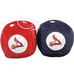 St Louis Cardinals Fuzzy Dice