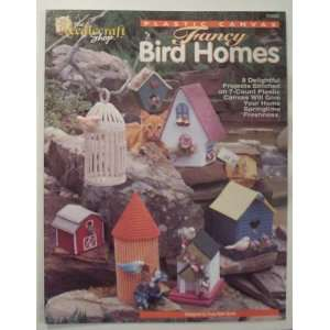 Fancy Bird House Plastic Canvas Craft Book: Books
