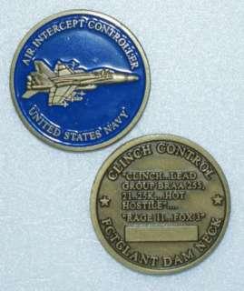 AIR INT U.S. NAVY PCTCLANT DAM NECK Challenge Coin