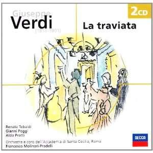 Verdi: La Traviata   Tebaldi, Poggi, Protti [Import]: Music
