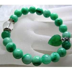 Fashion Jewelry Green Jade Pretty Beads Bracelet