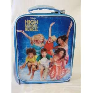 High School Musical Square Lunch Bag w/Bottle Toys