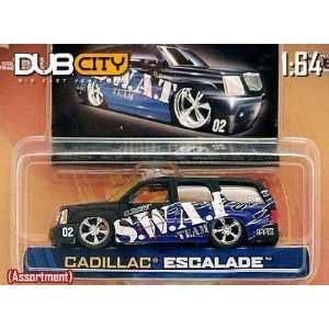 Jada Dub City Cadillac Escalade SWAT Team Truck 164 Scale