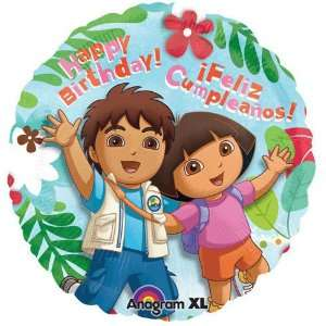 18 Dora & Diego Birthday (1 per package): Toys & Games