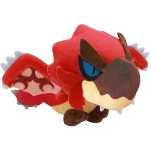 Capcom Monster Hunter Plush Doll 2D 8   Rioreus: Toys & Games