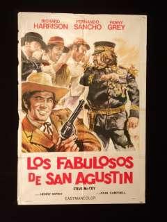 LOS FABULOSOS DE TRINIDAD * RICHARD HARRISON * SANCHO ARGENTINE 1sh