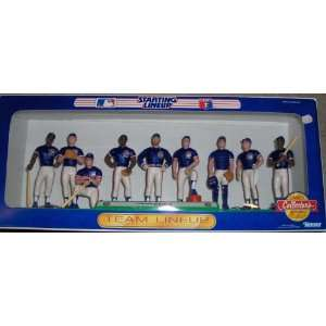 Chicago Cubs MLB Team Lineup Starting Lineup Toys & Games