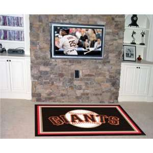 San Francisco Giants Rug 4x6 46x72