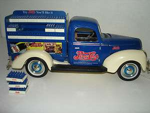 Golden Wheel Diecast Pepsi Cola 1940 Ford Bank Collectible SN10185
