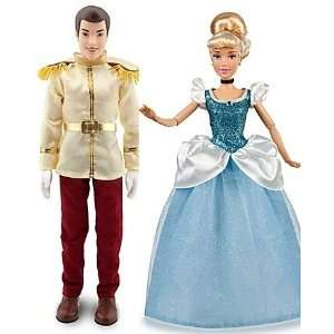 Cinderella Prince Charming Doll and Cinderella Doll    12