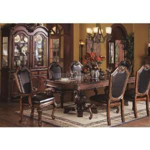 Acme Furniture Chateau De Ville Dining Room Set w/ Black Chairs 04075