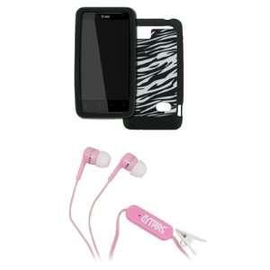 EMPIRE HTC Holiday Black and White Zebra Stripes Design