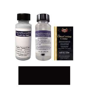 1 Oz. Obsidian Black Pearl Metallic Paint Bottle Kit for