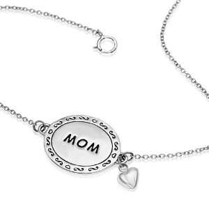 , Love mom Mothers day gift Jewelry for Women  Nickel Free Jewelry