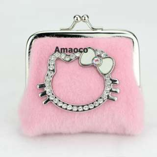 Style Luxury Lovely Candy Hellokitty Mini Purse Coin Bag Lady