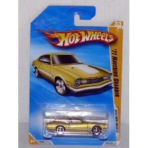 Mattel Hot Wheels 2010 Models 1971 Ford Maverick Grabber Golden Lime