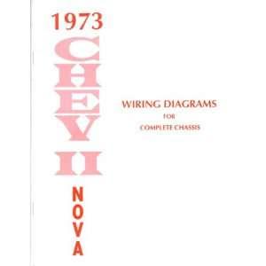 1973 CHEVROLET NOVA Wiring Diagrams Schematics Automotive