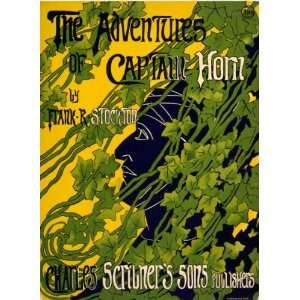 1899 poster The Adventures of Captain Horn by Frank R.: Home & Kitchen