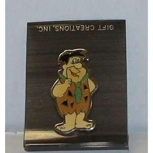 Vintage Enamel Pin Hanna Barbera the Flintstones Fred