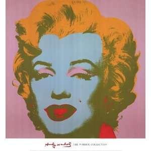 Marilyn Monroe, 1967 (pale pink) by Andy Warhol 26x28