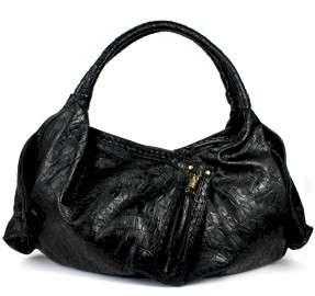 Jessica Simpson Navajo JS3822 Black Satchel Handbag