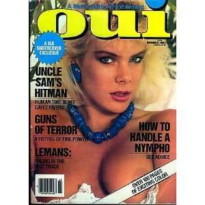OUI MAGAZINE   NOVEMBER 1988 ISSUE: OUI: Books