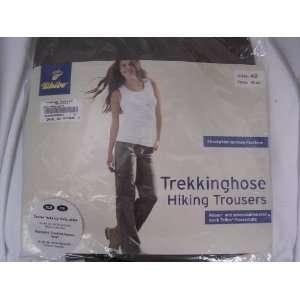 Hiking Pants Women Size 14 ; Trekkinghose with Teflon Protection