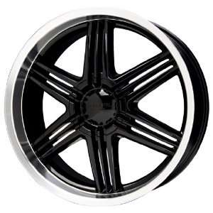 Liquid Metal Blade Series Black Wheel (20x9/6x135mm