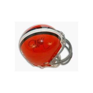 Eric Metcalf Autographed Cleveland Browns Mini Helmet