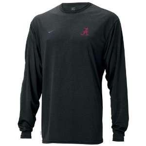 Nike Alabama Crimson Tide Black Performance Basic Loose