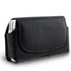 Blackberry Torch 9800 Black Leather Case