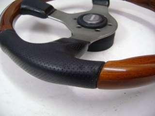 Momo Combi Wood Leather Original Steering Wheel
