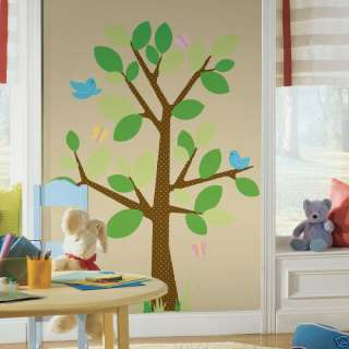 DOTTED TREE BiG Wall Mural Stickers Room Decor Nursery Decals Kids