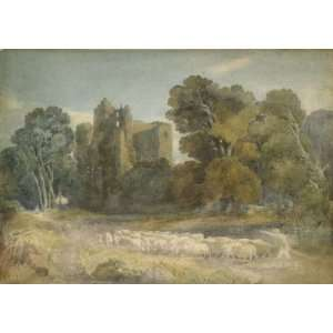Hand Made Oil Reproduction   David Cox   32 x 22 inches   Kenilworth