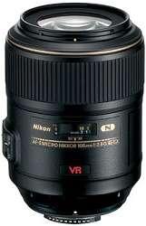 Nikon 105mm f/2.8G ED IF AF S VR Micro Nikkor Lens 0018208021604