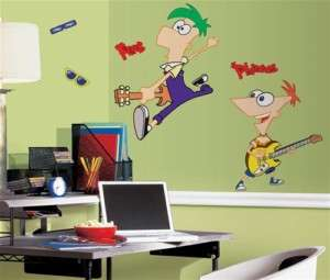 Phineas and Ferb Giant Wall Decals Stickers Appliqués
